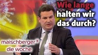 Hubertus Heil bei maischberger. die woche 25.03.2020