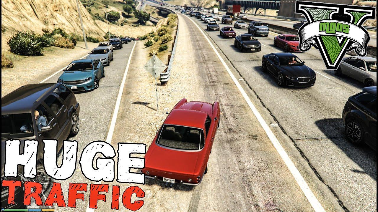 Heavy Traffic Mod / GTA 5 PC (GRAND THEFT AUTO V)