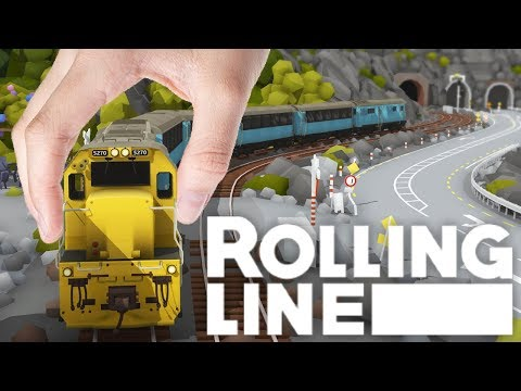 Rolling Line - Amazing VR Model Train Simulator - Driving Model Trains In VR - Rolling Line Gamplay