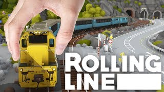 Rolling Line - Amazing VR Model Train Simulator - Driving Model Trains In VR - Rolling Line Gamplay