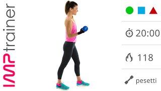 Braccia Toniche! Esercizi Con I Pesetti E A Corpo Libero per Braccia e Spalle