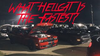 What Dodge Challenger Hellcat Is The Fastest?