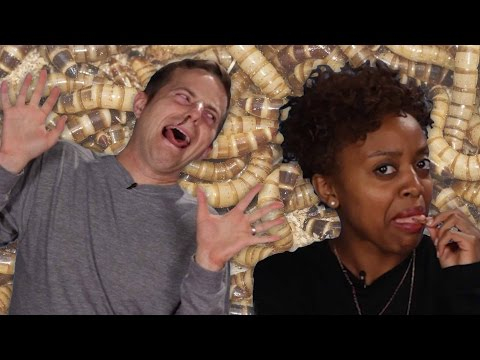 Thumbnail: People Eat Bugs For The First Time