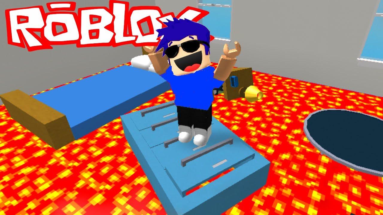 El Suelo Es Lava The Floor Is Lava En Roblox Youtube
