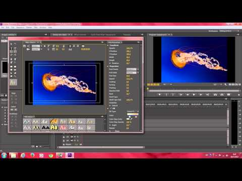 Adobe Premiere Pro วิธีทำตัวหนังสือ Slide