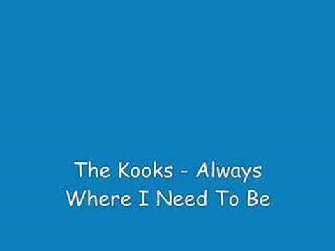 The kooks - always where i need to be ( acoustic )