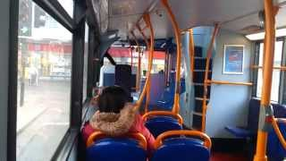 Stagecoach Bedford Enviro 400 AE11 FUD 19888 On Route 1 Bus St…