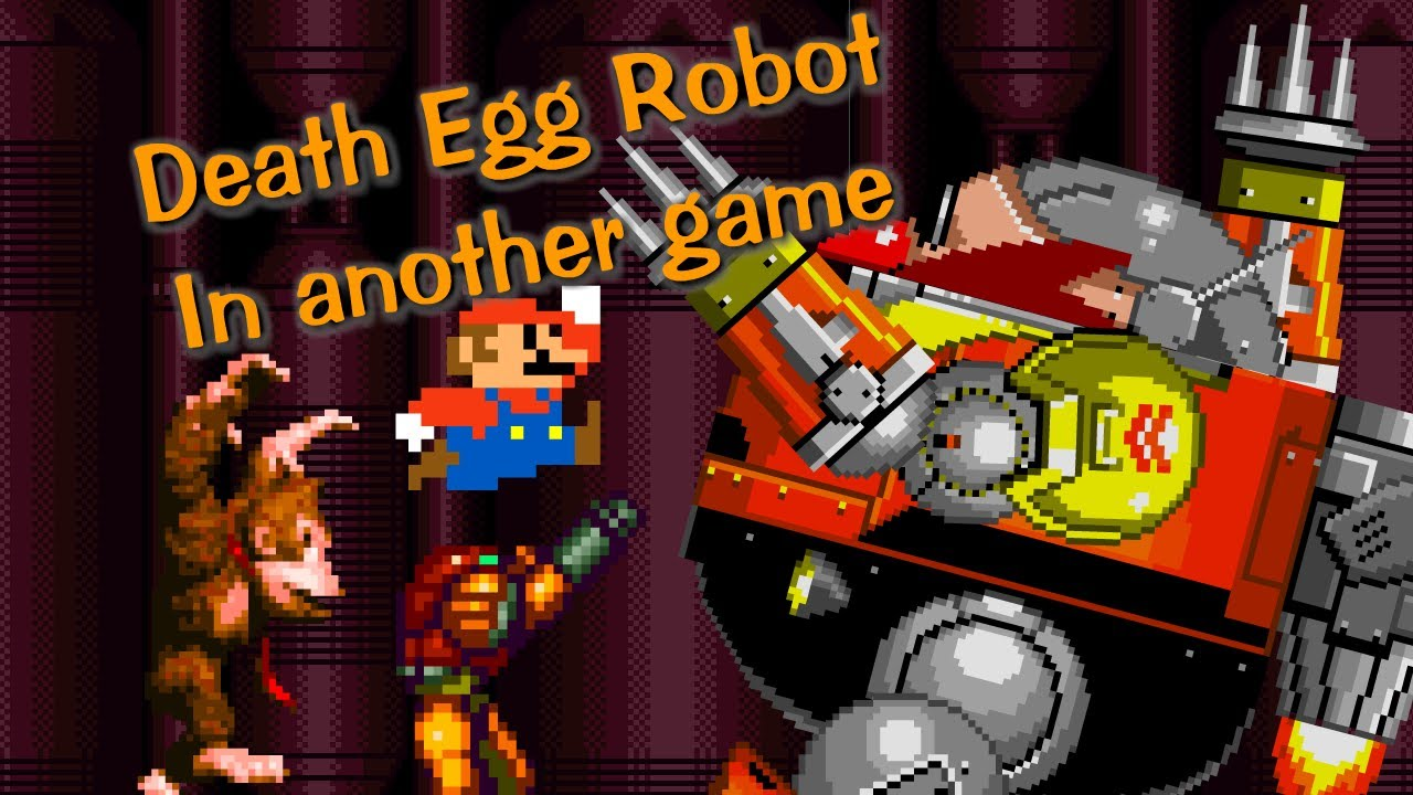 The Death Egg Robot In Another Game Youtube