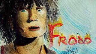 How to Draw- FRODO BAGGINS- Elijah Wood
