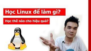 Học linux để làm gì? Có cần không? Học linux như thế nào cho hiệu quả ?