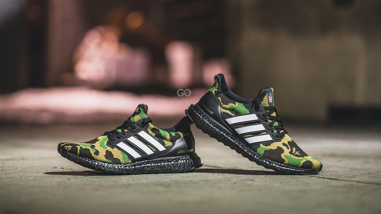9fe387abefa BAPE x Adidas Ultra Boost