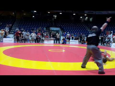 2016 Canada Cup: 65 kg Xander Chaves (CAN) vs. Alejandro Valdes Tobier (CUB)