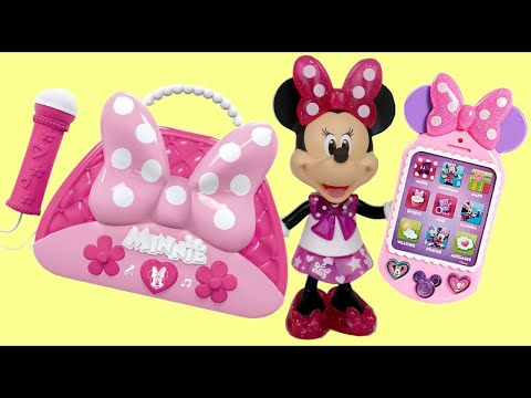 MINNIE MOUSE Happy Helper Bag, Cellphone, Sunglasses & Passport Playset