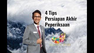 4 Tips Persediaan Menghadapi Peperiksaan