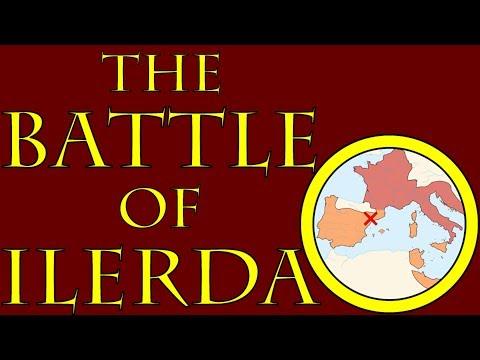 The Battle of Ilerda (49 B.C.E.)