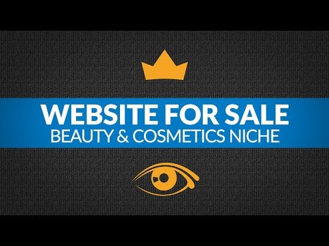 Website for Sale - $6.3K/Month in Beauty & Cosmetics Niche,