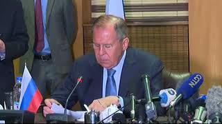 В ходе совместной пресс-конференции по итогам переговоров с мининдел Зимбабве С.Мойо
