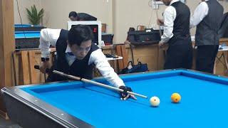 Mã Xuân Cường vs Trịnh Nhi Vũ. Billiards Út Nhi