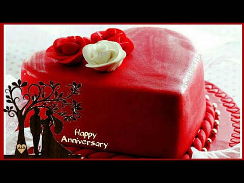 Happy Wedding Anniversary Cake With Name Edit The Cake Boutique