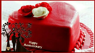 Wedding Anniversary Cake Images |Wishes|Greetings| Happy Anniversary Status| Best WhatsApp Status