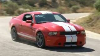 475hp Supercharged V6 2012 Shelby GTS Test Drive