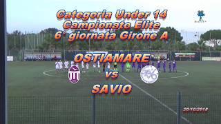 Under 14 Elite 6° campionato Ostiamare vs Savio - HIGHLIGHTS