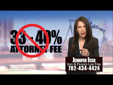 Car Accident Commercial - Nevada Attorney Jennifer Isso, Esq. of Isso & Hughes Law Firm
