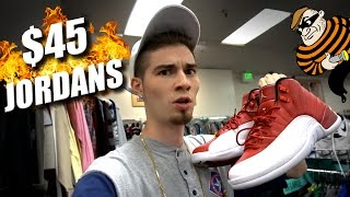 trip to the thrift 138 gym red jordan 12s cop t plus jerseys jackets and mo sneakers