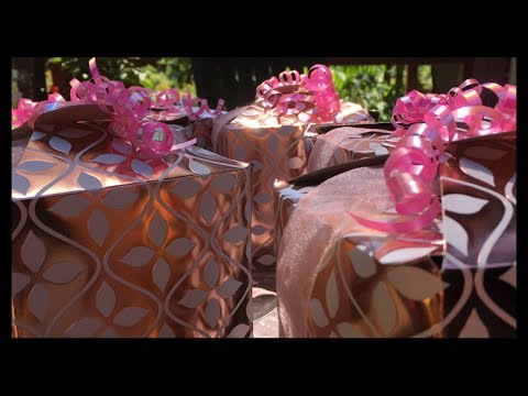 DIY~ Women's Party Favor Box's.