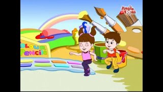 Fun with Color | Color Rhymes & Color Songs for Children | Learn Colors with JingleToons