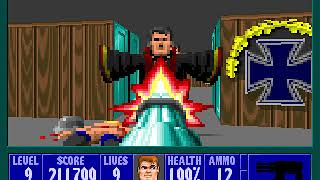 Wolfenstein 3D Part 19 Third Boss Fight