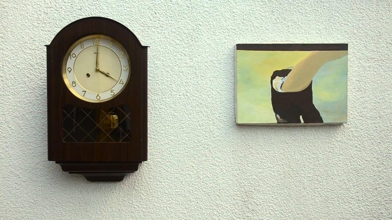 Reloj de pared antiguo jawaco alem n youtube - Relojes pared antiguos ...