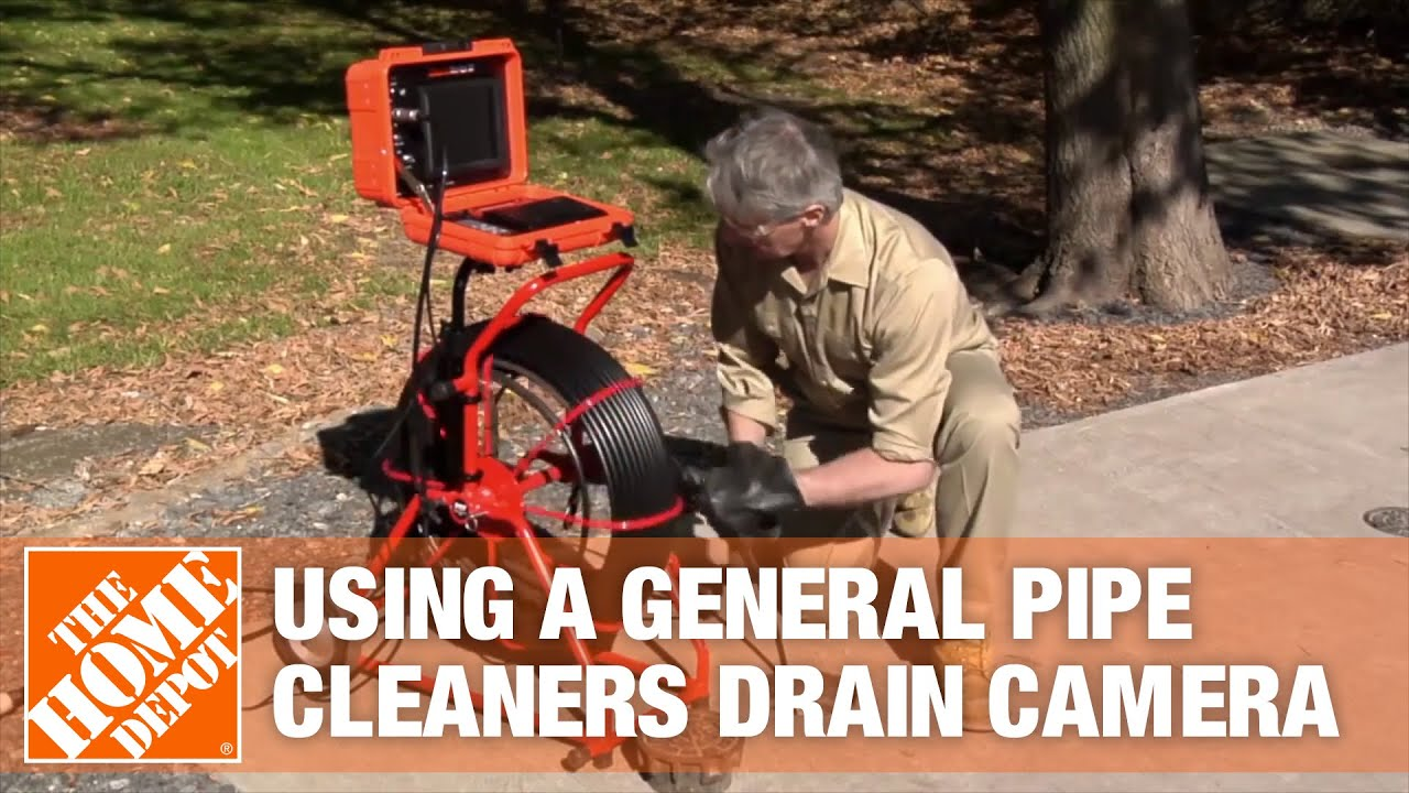 Download General Pipe Cleaners Drain Camera | The Home Depot Rental