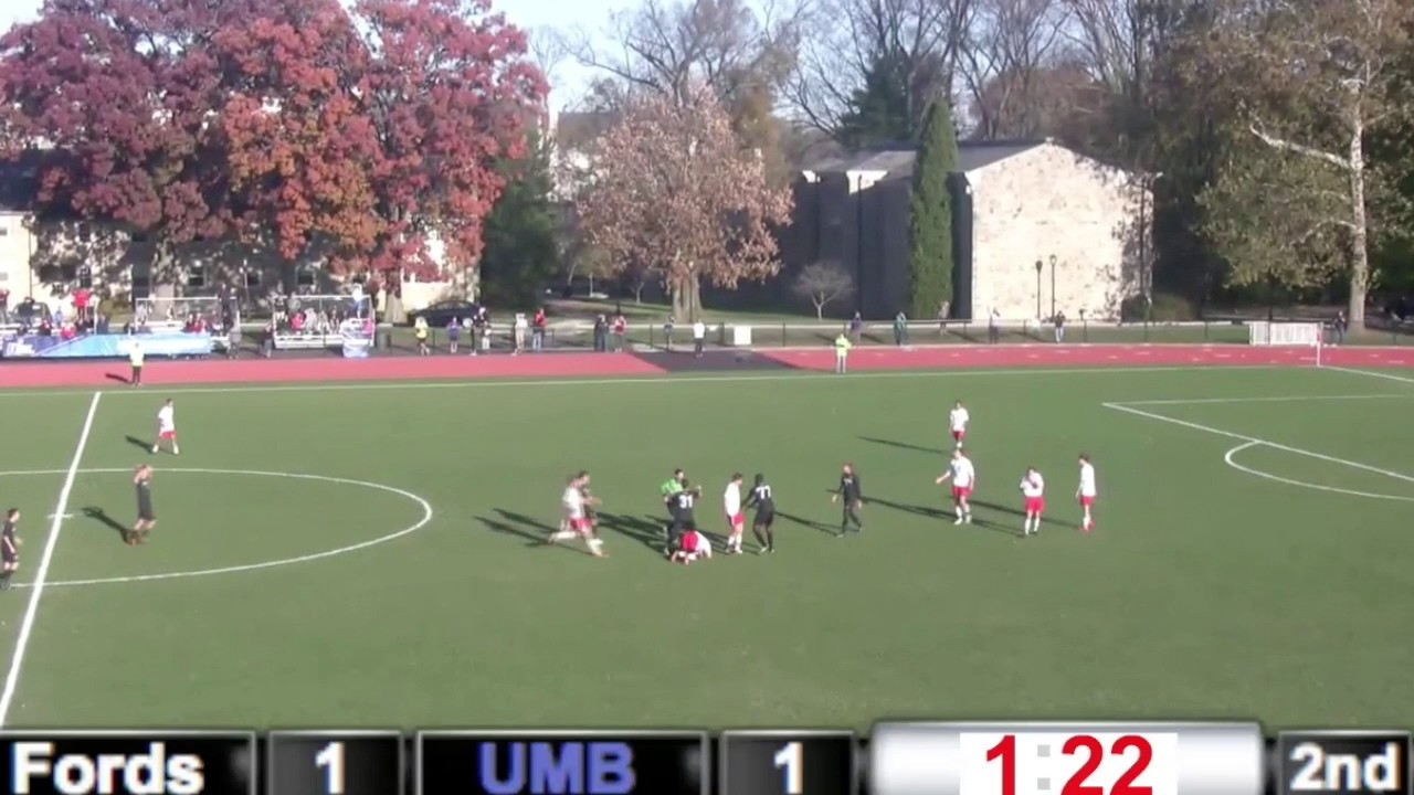 UMassBoston Mens Soccer NCAA Tournament Dirty Plays - YouTube