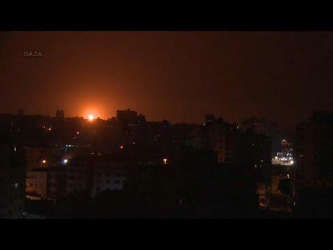 Israel Bombardea Objetivos De Hamás En Gaza Tras El Disparo De Un Cohete