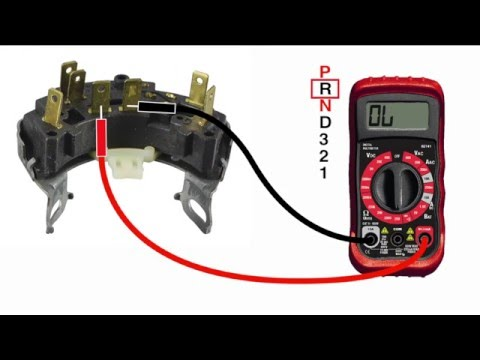 Classic Update Neutral Safety and Back Up Light Connections - YouTube