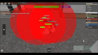 Roblox Footage: Hacker on BLEACH Reishi's Exhaust Part 2