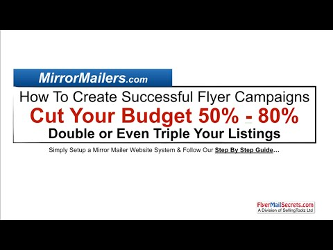 Real Estate Flyers | How To Profit Doing Flyer Campaigns