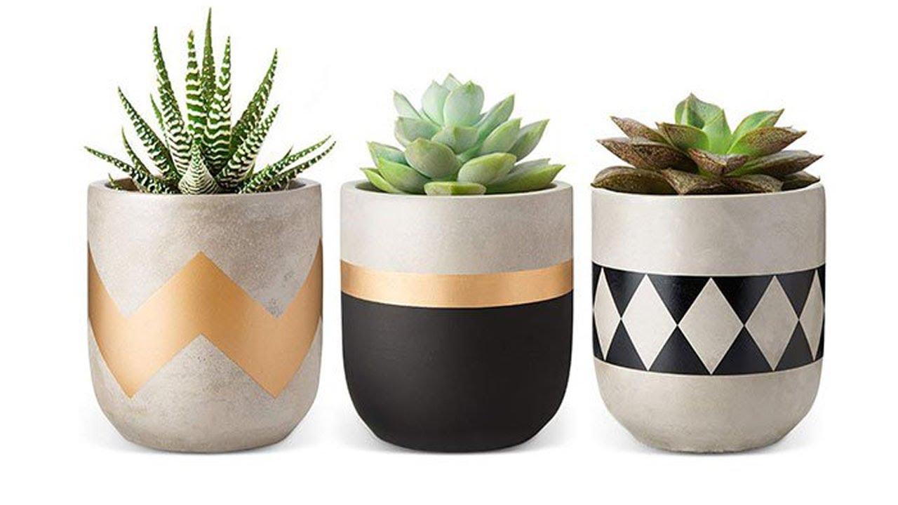 Cara Membuat Pot Dari Semen Ll Ide Kreatif Youtube Cara membuat pot bunga minimalis
