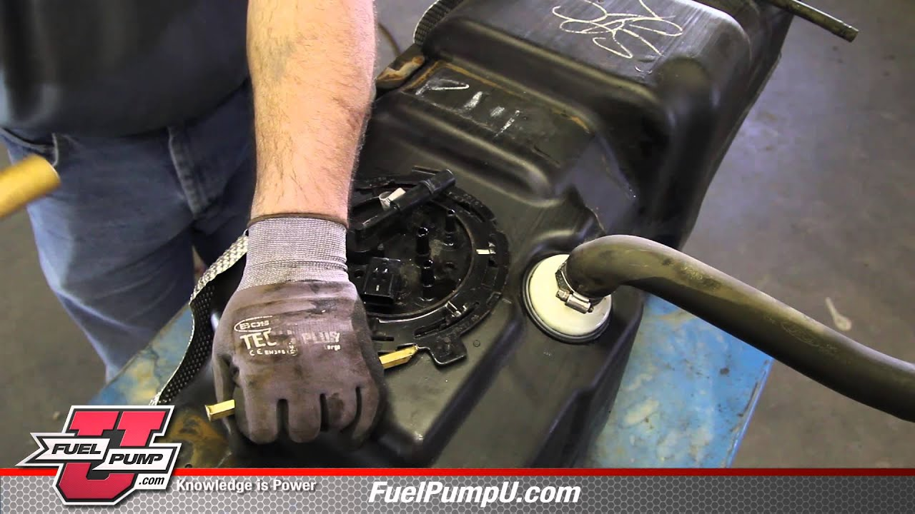 How To Install Fuel Pump E8707m In A 2007 2011 Ford