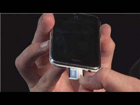Cell Phones & SIM Cards : How To Transfer Contacts From A SIM Card