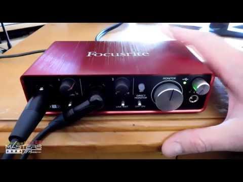 Focusrite Scarlett 2i2 Review (2nd Gen) + Guitar Tests