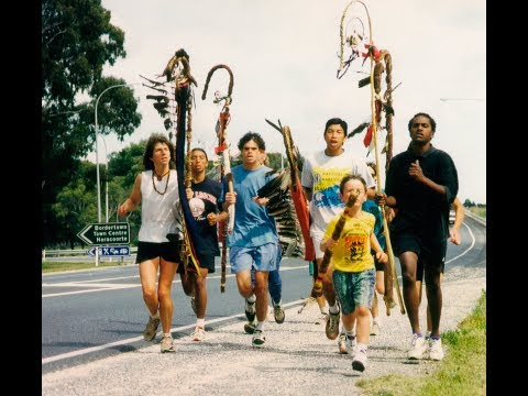 SACRED RUN THROUGH SACRED LAND - The Sacred Run 1993 Australia / New Zealand (Aotearoa)