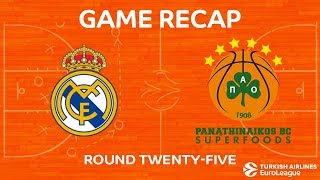 Highlights: Real Madrid - Panathinaikos Superfoods Athens