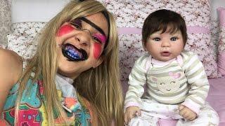 #8 ROTINA DE FÉRIAS da minha bebê reborn - Final : A verdadeira Manu Video