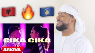 Gambar cover ARAB REACTION TO ALBANIAN MUSIC BY Ardian Bujupi & Xhensila - CIKA CIKA