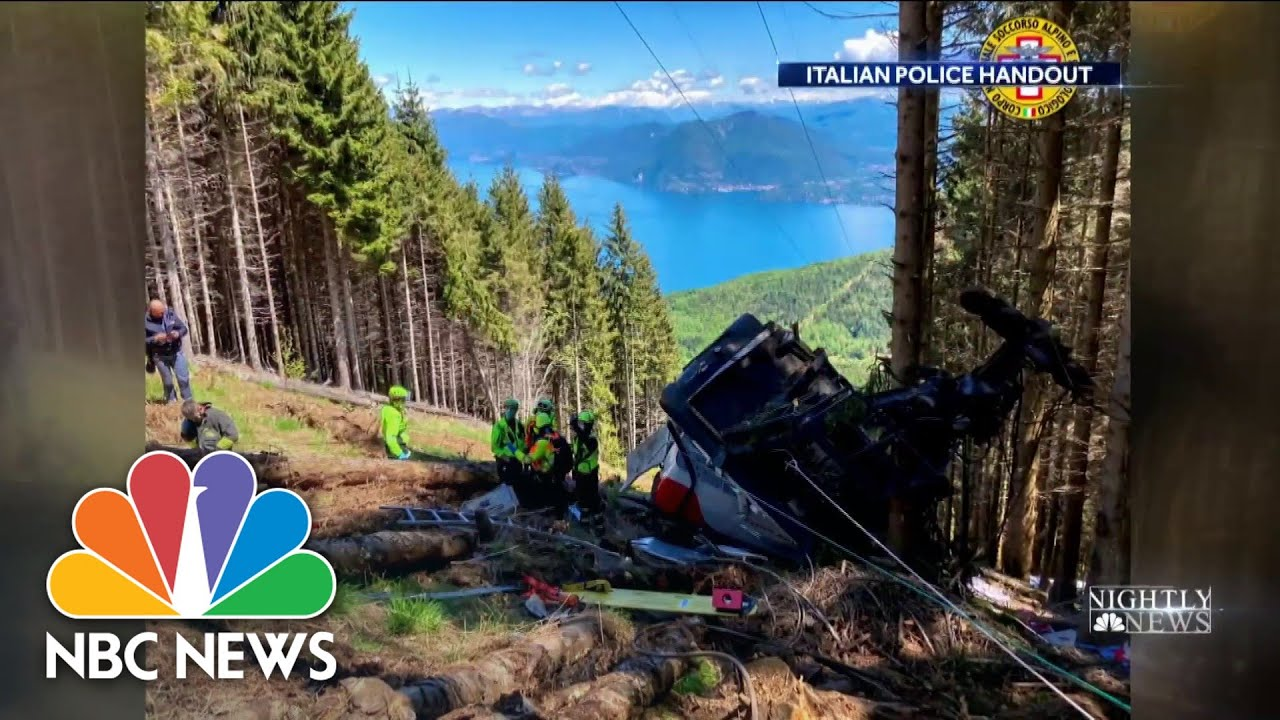 Download Cable Car Plummets in Italy