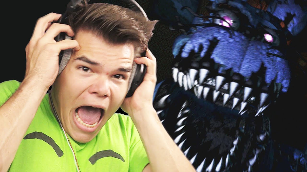 STOP THE JUMPSCARES!!! (Five Nights at Freddy's 4)