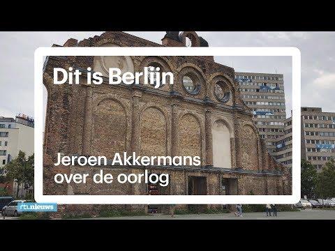De kogelgaten zitten nog in de muren: Jeroen Akkermans laat de oorlogsresten in Berlijn zien