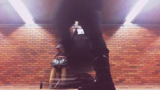 Handpan Remedy in Montreal subway